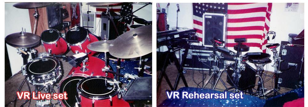 VR drums