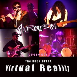 """Virtual Reality"" – CD Front Cover"