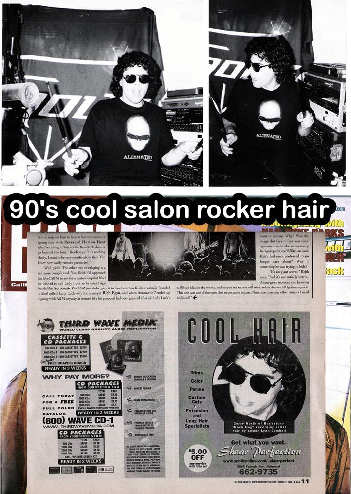 cool rocker hair