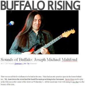 Buffalo Rising Mahfoud mentions Parousia