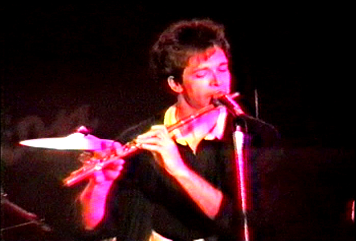 Patt Connolly (Vocals / Flute) FM Station 1990