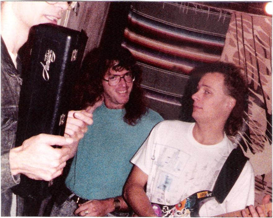 PAROUSIA 1989: Patt Connolly (flute/vocals); Dudley Taft (guitar /vocals); Marty Leggett (keyboards) Gerry N. Cannizzaro (drums)