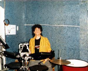 Gerry North Cannizzzaro at 1435 Las Palmas, Hollywood, CA - July 1987