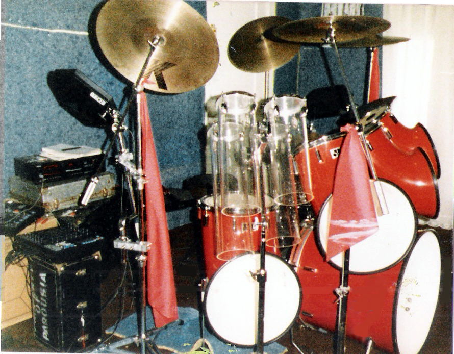 Gerry Cannizzaro's Acoustic/ Electronic drum hybrid kit