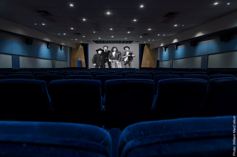 Screenwriters Guild screening room