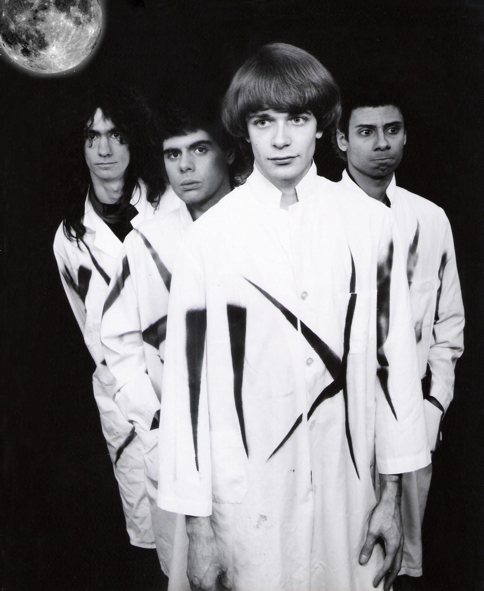 the Fab Four photo 1983-1984
