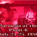 Parousia Plant 6